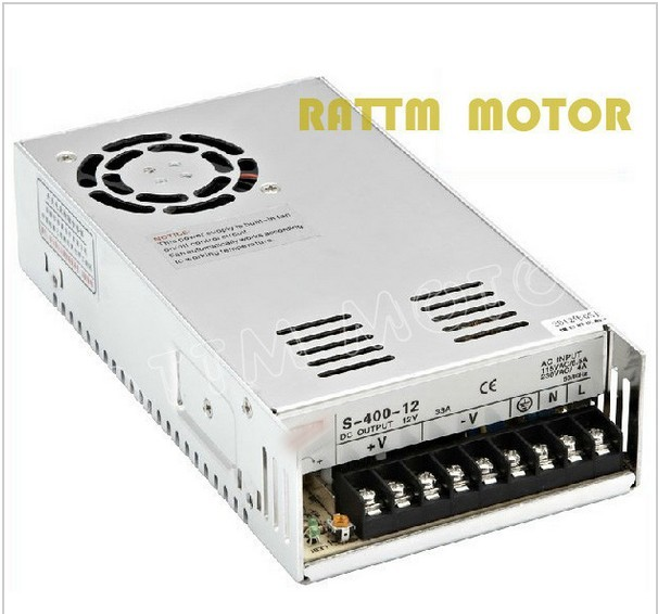 ФОТО 400W 36V Switch Power Supply! CNC Router Single Output Power Supply 400W 36V Foaming Mill Cut Laser Engraver Plasma