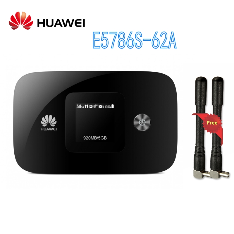 Unlocked HUAWEI E5786 Router huawei E5786s-62a 4G LTE Advanced 300Mbps 4G Pocket WiFi Router plus AntennaUnlocked HUAWEI E5786 Router huawei E5786s-62a 4G LTE Advanced 300Mbps 4G Pocket WiFi Router plus Antenna