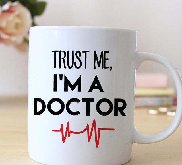 Doctor Mug Gift Friend Gifts Coffee Home Decal Wine Cup Whiskey Cups Beer