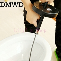 Bathroom Hair Sewer Filter Dredge Machine Drain Outlet Kitchen Strainer Drain Cleaners Anti Clogging Floor Removal