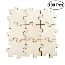 100Pcs 20mm Colorful Mix Wood Wooden Logs Sewing Scrapbook Craft DIY Decor