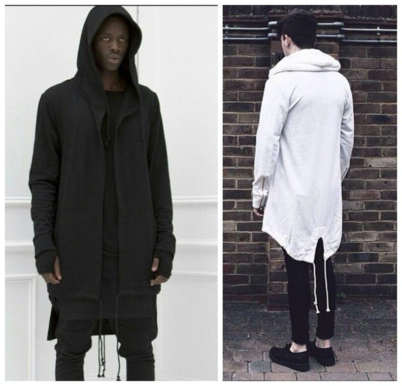 Original design 2015 New Fashion men's coat hoodies dovetail cardigan  hiphop men hoody black cloak outerwear - Online Buy Wholesale Oversized Cardigan Men From China Oversized