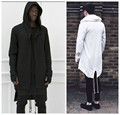Original design 2015 New Fashion men's coat hoodies dovetail cardigan hiphop men hoody black cloak outerwear oversize streetwear