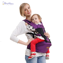 Baby Carrier Sling Breathable Comfortable Pouch Infant Backpack Portable Adjustable Safety Kangaroo Bag Red Blue Purple Coffee