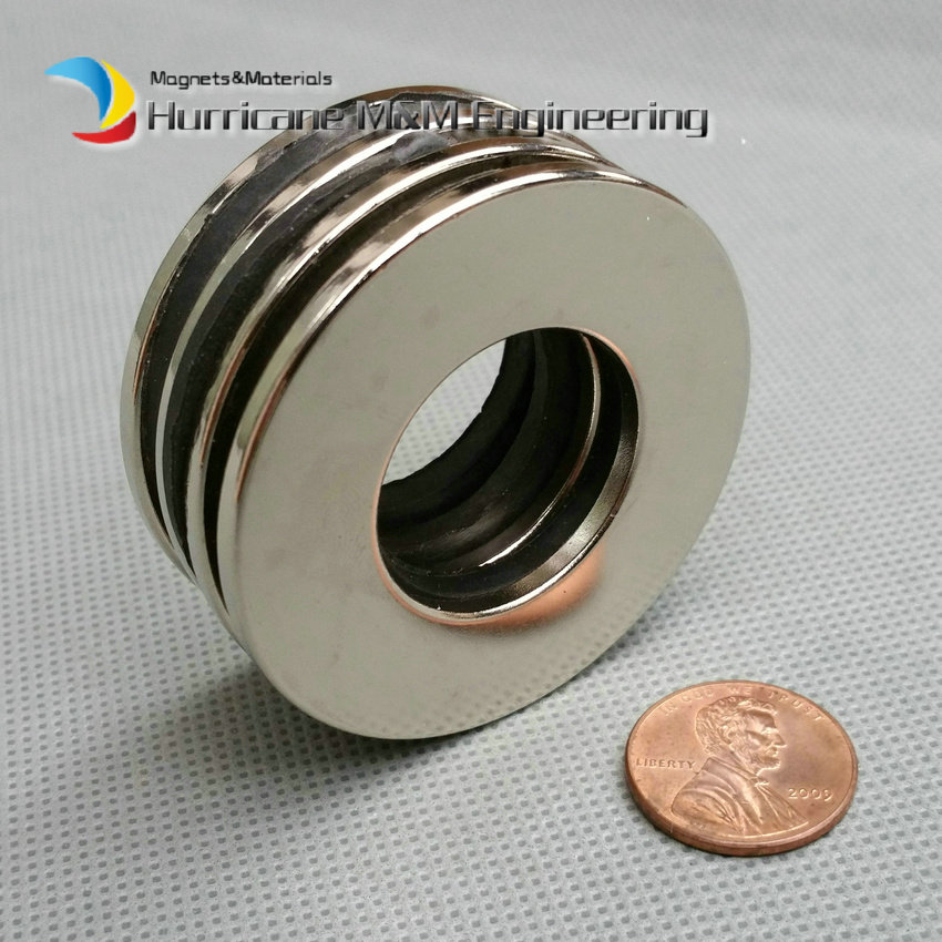 12pcs NdFeB Magnet Ring OD 50x25x3 (+/-0.1)mm thick Strong Neodymium Permanent Magnets Rare Earth Magnetic Tube Precision arrival 8pc 50 25 12 5mm craft model powerful strong rare earth ndfeb magnet neo neodymium n50 magnets 50 x 25 12 5 mm