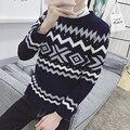 2016 new winter wind fresh snow art school in Japan and South Korea fan - head men's sweater knitted jacket