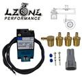 LZONE   3 Port Elektronische Boost Control Magnetventil 35A ACA DDBA 1BA Mit Messing Schalldämpfer JR ECU00-in Ventile & Teile aus Kraftfahrzeuge und Motorräder bei