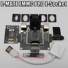 Boîte de E MATE E mate box e socket 6 en 1 pas de soudure BGA169E BGA162 BGA221 support Medusa Pro box/UFI/ATF/EASY JTAG Plug/RIFF box