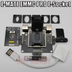 E-MATE коробка E mate box E-Socket 6 в 1 без сварки BGA169E BGA162 BGA221 поддержка Medusa Pro box/UFI/ATF/легкий JTAG Plug/RIFF-бокс