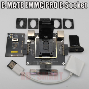 Image 1 - E MATE коробка E mate box E Socket 6 в 1 без сварки BGA169E BGA162 BGA221 поддержка Medusa Pro box/UFI/ATF/легкий JTAG Plug/RIFF box