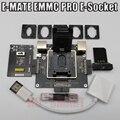 E-MATE doos E mate box E-Socket 6 in 1 Geen lassen BGA169E BGA162 BGA221 ondersteuning Medusa Pro doos /UFI/ATF/GEMAKKELIJK JTAG Plug/RIFF BOX