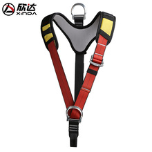 XINDA Outdoor Sport Protection Equipment Upper Body Seat Belt Shoulder Strap Climbing Mountaineering Safety Belt Downhill Rescue 2018 rock climbing climbing downhill protection half belt safety belt rescue seat belt harness seat belt