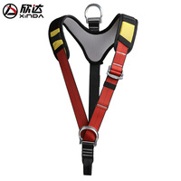 XINDA Outdoor Sport Protection Equipment Upper Body Seat Belt Shoulder Strap Climbing Mountaineering Safety Belt Downhill Rescue