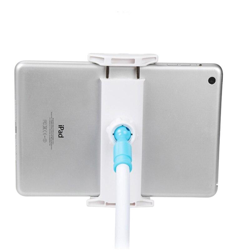 פנסים מופעלי סוללות Tablet מחזיק 85 / 130cm הזרוע הארוכה מיטה / שולחן קליפ אינץ Bracket For3.5 כדי 10.6 אינץ iPad Air מיני Xiaomi Mipad קינדל טלפון Tablet (4)