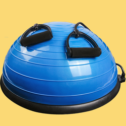 Halb Yoga Balance Ball Gym Workout Ball Pilates Halb Yoga Ball Übungen Ausbildung Fitball Mit Saiten und Pumpe