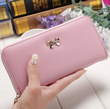 Female Wallets Phone Clutch Bag Purses Bow-Knot Long Wallets For Girl Ladies Money Coin Pocket Card Holder Women's Wallets female wallets phone clutch bag purses bow knot long wallets for girl ladies money coin pocket card holder women s wallets