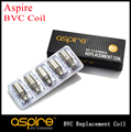 20pcs/lot Aspire Coil Replacement BVC Coil Atomizer Bottom Vertical Coil Head CE5 ET s Mini Vivi Nova s Atomizer Cores