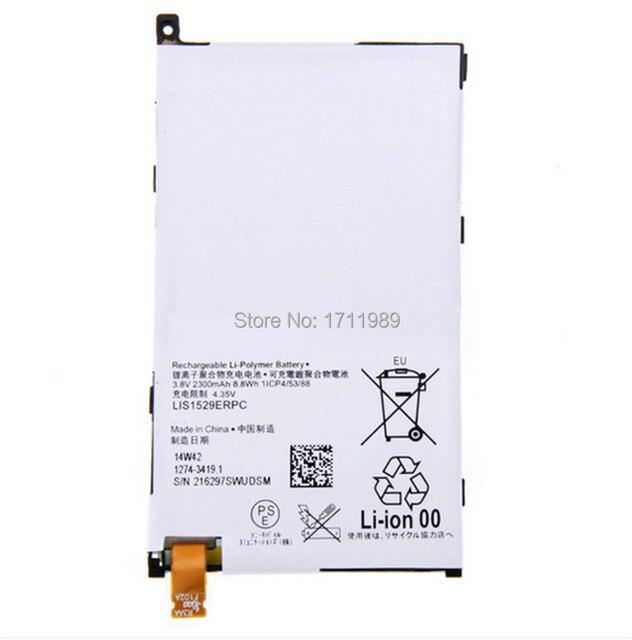 2300mAh New LIS1529ERPC Battery For SONY Xperia Z1 mini D5503 Xperia Z1 Compact M51w Batterij Bacteria + Tracking Code
