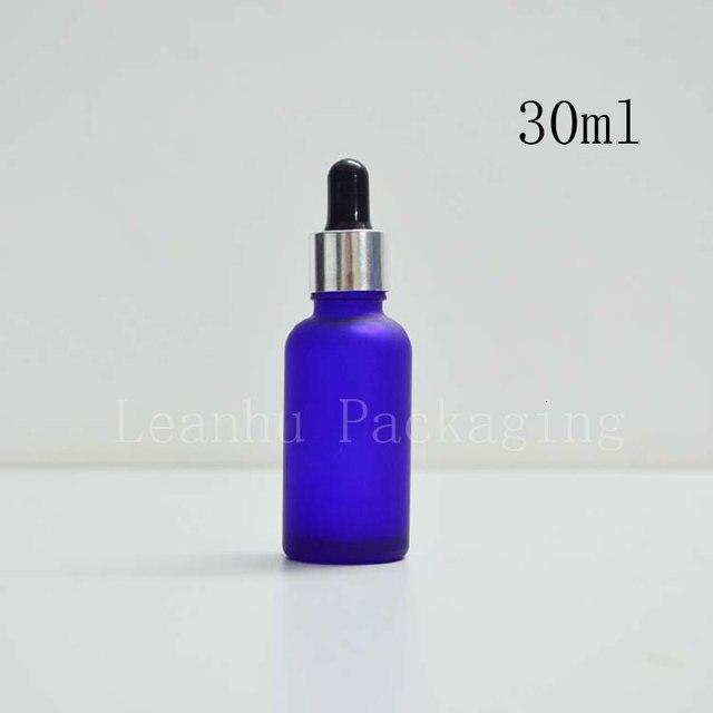 30ml frosted blue oil bottle dropper bottle wholesale points bottling bottles of essential oils deployment tools