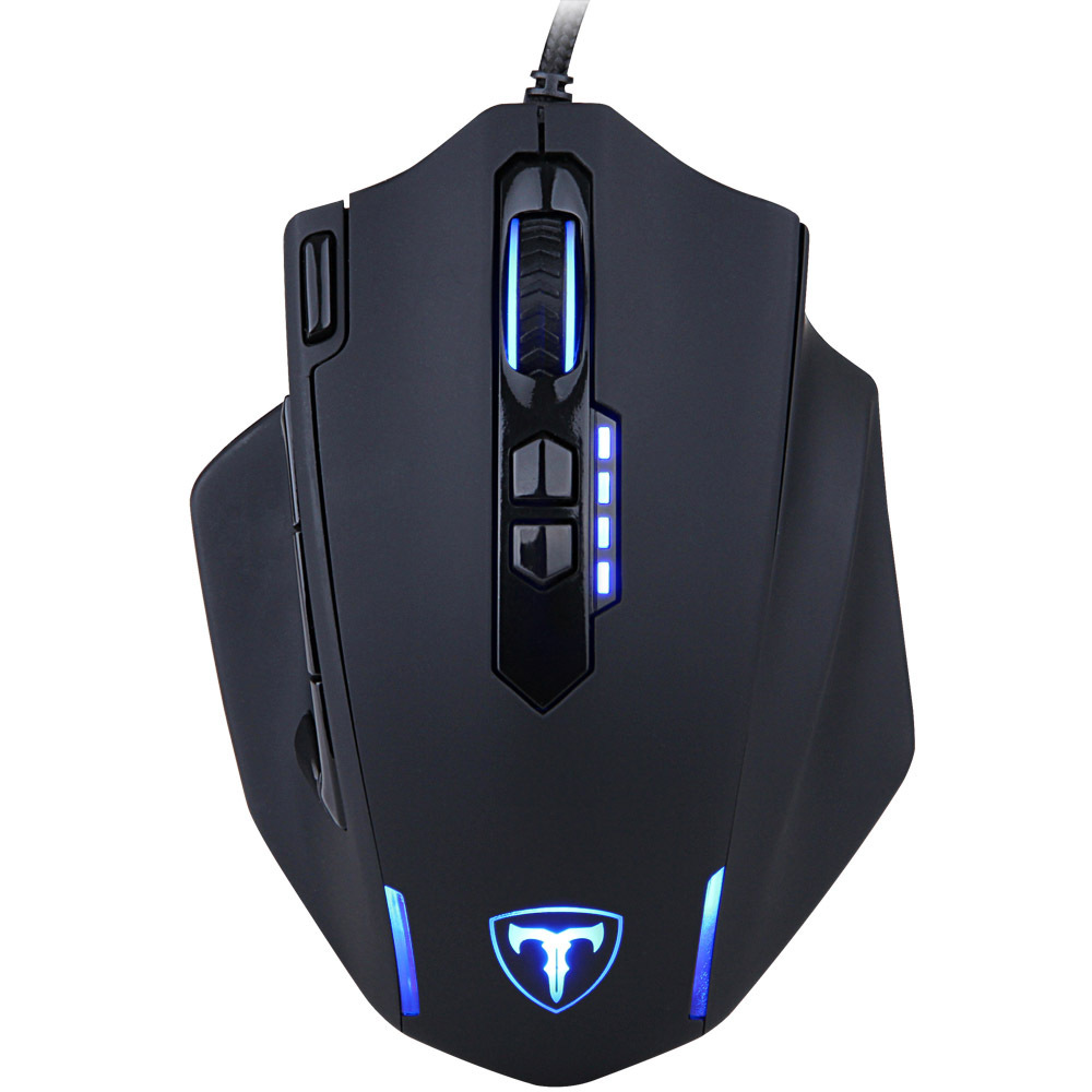 ET T1 Newest Ceative 9D 4000DPI Professional Gaming Mouse User Defined LED USB Optical Wired