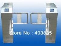 Ponte deu forma à porta automática padrão do balanço da velocidade do chanfro  freio pedestre do balanço  porta da barreira do balanço swing barrier gate barrier gateswing barrier -