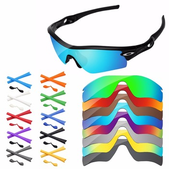 PapaViva Replacement Lenses and Rubber Kit for Authentic Radar Path Sunglasses Frame – Multiple Options