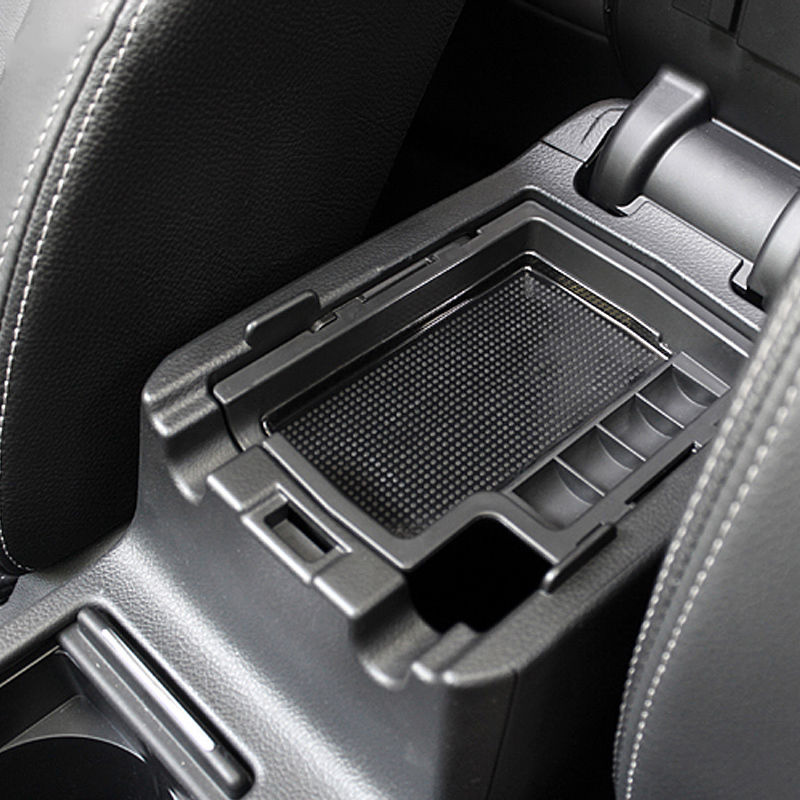 Car Center Console Armrest Storage Box Center Console Bin Tray For Crosstrek 2012-2017 Subaru XV Mat Stowing Oganizer Holders ...