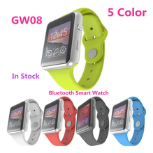 2016 New Smartwatch GW08 Bluetooth Smart uhr Für iPhone & Samsung Android Telefon relogio inteligente reloj smartphone uhr