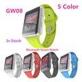 2016 nueva gw08 bluetooth smart watch smartwatch para iphone & samsung teléfono android relogio reloj inteligente reloj teléfono inteligente