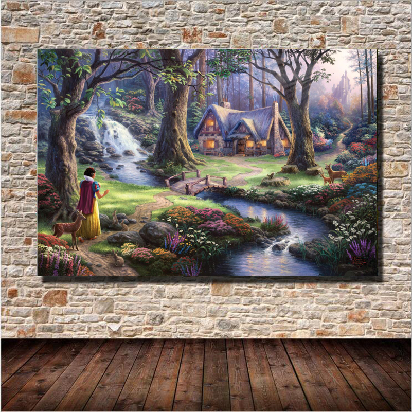 Popular cabin bedroom decor buy cheap cabin bedroom decor for Cabin in the woods wall mural