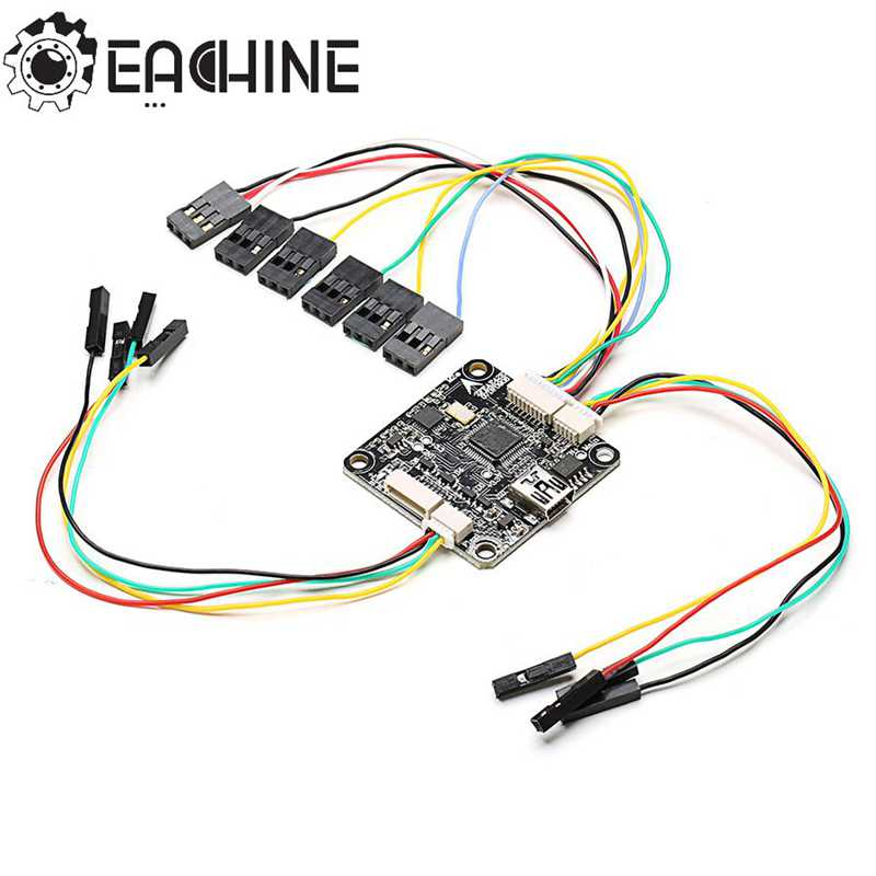 Eachine Racer 250 Drone Spare Part CC3D Flight Controller With Flexiport For RC Multirotor Accessories original eachine racer 250 rc drone spare part frame arm black red white