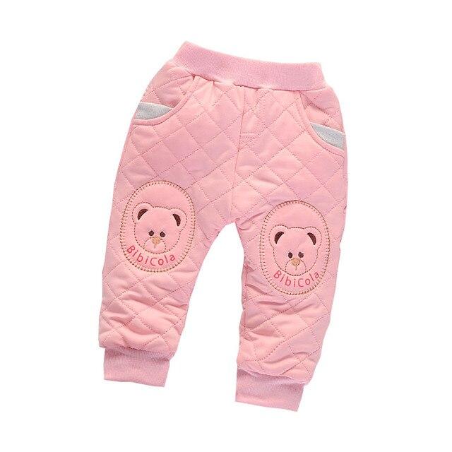 cc954d662a73 BibiCola Baby Girl Pants Children Spring Boys Cute Cartoon Warm ...