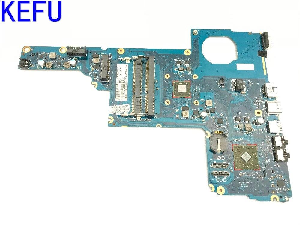 KEFU STOCK entièrement testé carte mère d'ordinateur portable pour HP 1000 2000 CQ45 PC portable avec processeur embarqué