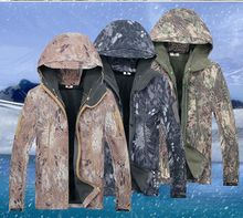Taktische Schlange Tarnung Armee Jacke Männer Military Hai dünne Wasserdichte Softshell Jacken Freien Fleece Camo Kleidung 92406