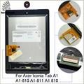 Para acer iconia tab a1 a1-810 a1-811 a1 810 display + touch screen painel de digitador peças tela lcd de 7.9 polegada