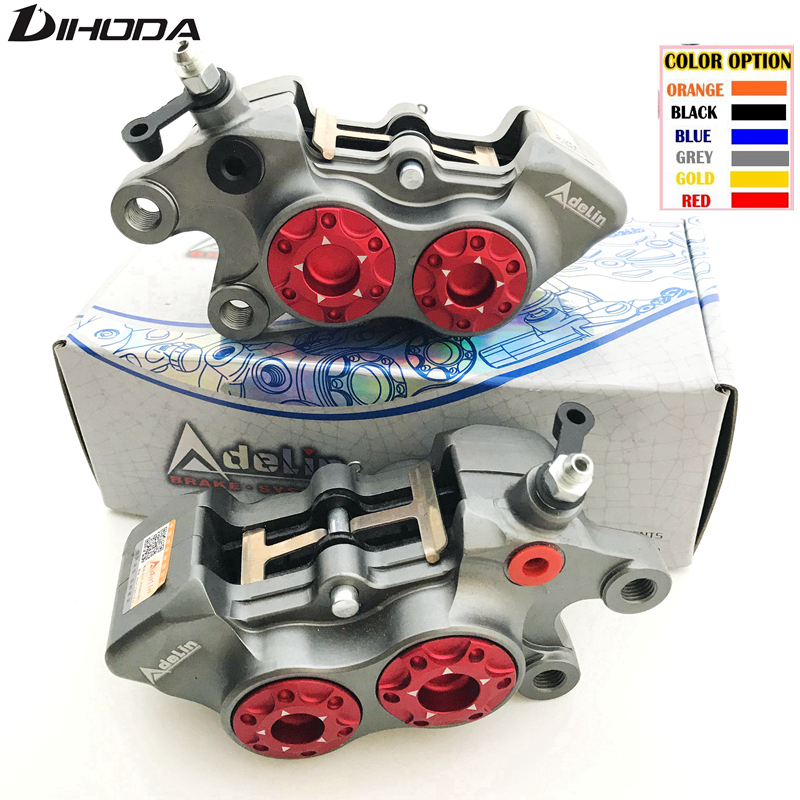 Adelin ADL 11 Double star calipers Motorcycle modification electric motorcycle four piston brake calipers For WISP