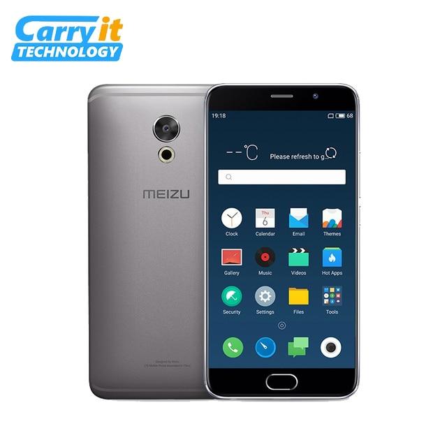 """Оригинальный Meizu Pro 6 Plus 64 ГБ 4 ГБ Глобальный Встроенная память оты сотовый телефон Android Exynos 8890 Octa Core 5.7 """"2 К AMOLED 1080 P 12.0 МП"""