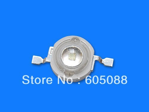 1w uv high power led lighting beads bulb lamp DC3.0-3.4v 350mA wavelength 380-385nm 100pcs/lot promotion DHL/EMS free shipping