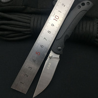 Sanrenmu 6040 8cr14mov lâmina g10 lidar com acampamento ao ar livre sobrevivência caça utilitário faca de frutas super militar ferramenta bolso edc