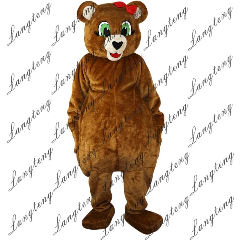 2018 New Hot Sale Brown bear Ursusarctos Mascot Costume ...