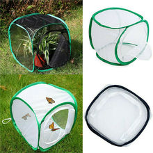 Insect Cage Foldable Butterfly Habitat Mesh Transparent Surface Portable Zipper Insect Supplies Boxes eyewitness dvd insect