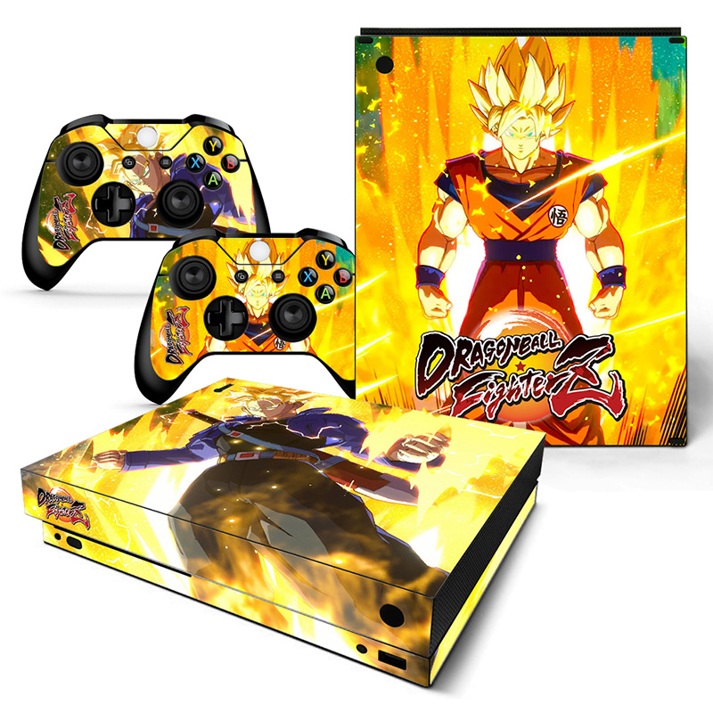 Dragon Ball 015 Vinyl Decal Skin Sticker For Xbox360 Slim And 2 Controller Skins Video Games & Consoles Video Game Accessories