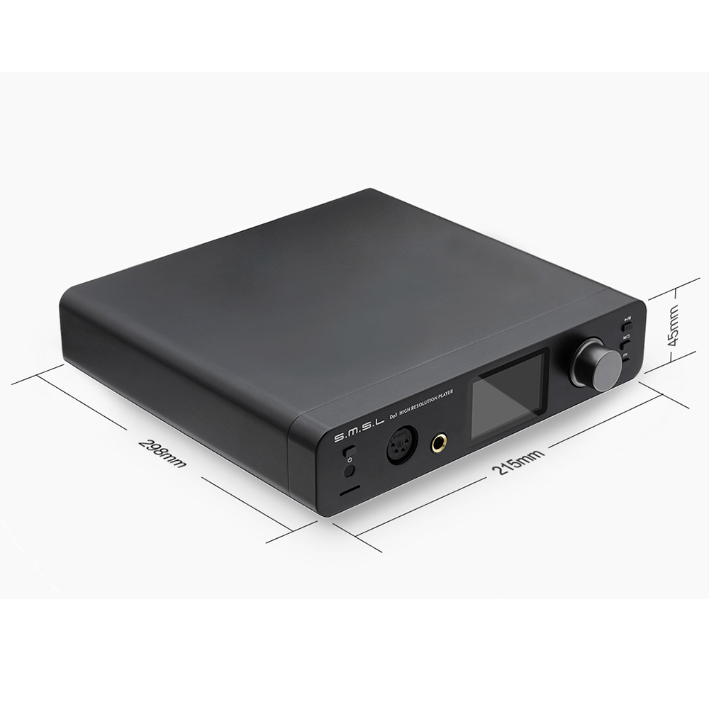 SMSL-DP3-USB-DAC-puro-decodificador-amplificadores-ES9018Q2C-Coaxial-ptico-DSD512-escritorio-Digital-amplificador-decodificaci-n