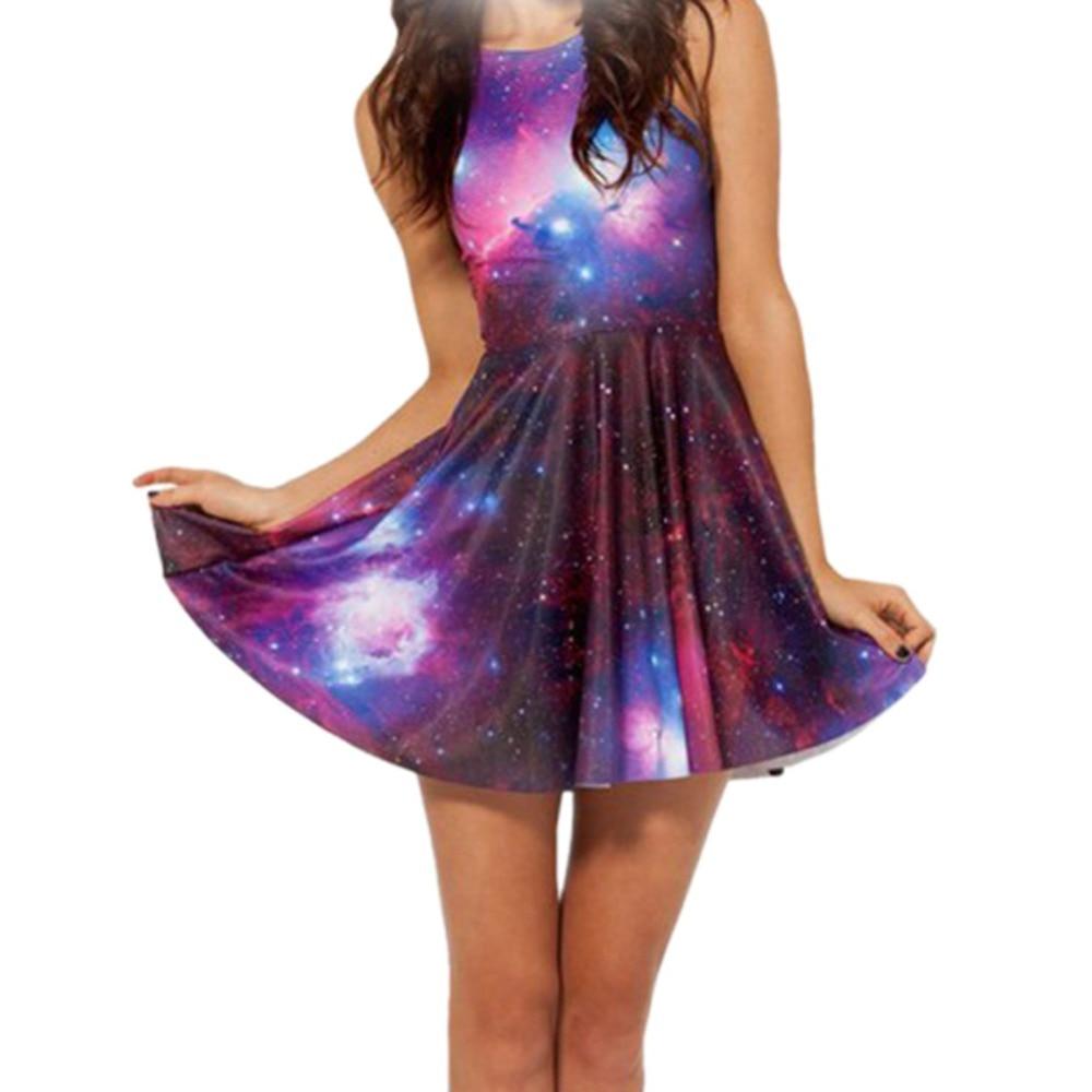Verano de las mujeres atractivas galaxy 3d space star universe sunderss visten v