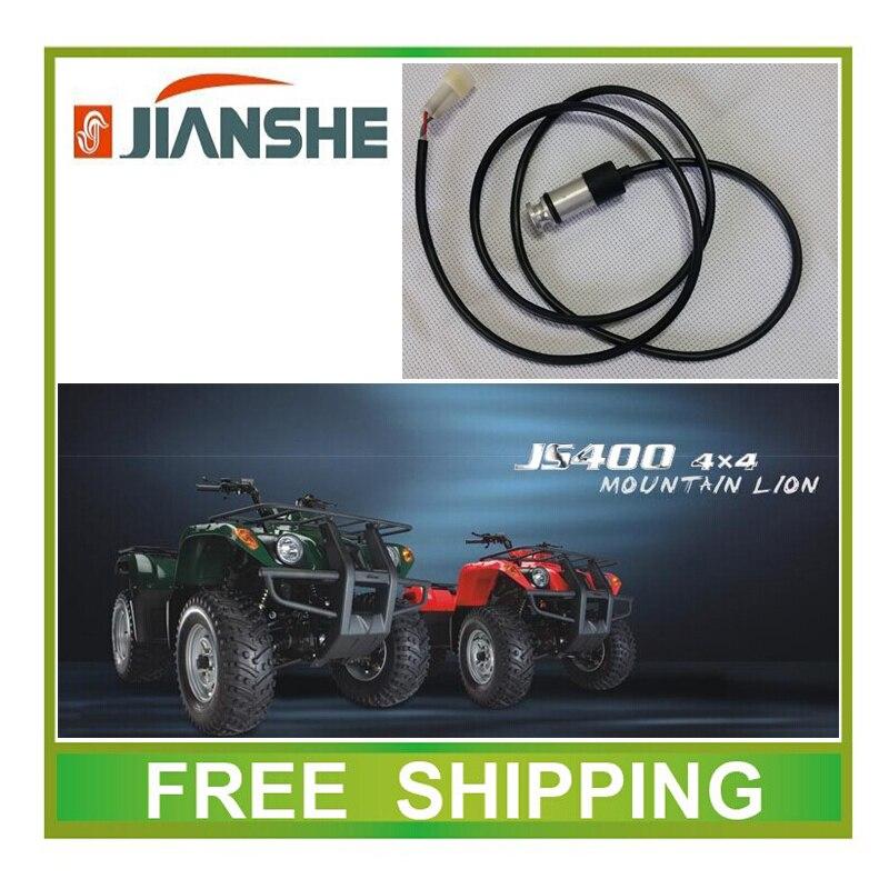 Hospitalario Jianshe 400cc Atv Atv400 Velocímetro Odómetro Sensor Accesorios Envío Gratis