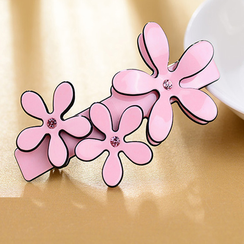Fashion hair accessaries for women cellulose acetate hair pins and clips cheap french hair barrettes crab acrylic hairpins