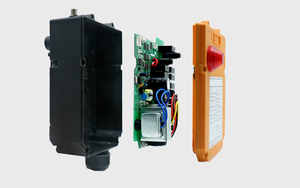Image 5 - Duplo/único guindaste da velocidade F24 8D/s que conduz o guindaste industrial de controle remoto sem fio industrial 1 receptor 2 transmissor 220v12v24v