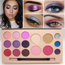 Brand Professional Eyes Makeup Palette Nudes Pigment Glitter Eye Shadow Matte Shimmer Highlighter Makeup Eyeshadow Sets Cosmetic