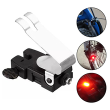 DEHAIW Bike Brake Light Cycling Led Light Mountain Bike V-shape Brake Light Red High Intensity Rear Fits On Any Road Bikes cheap Frame Battery EACHGO