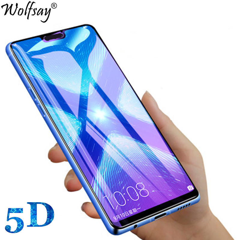 SHUHAN Tempered Glass Film 100 PCS 0.26mm 9H 2.5D Tempered Glass Film for Xiaomi Redmi Note 7 Mobile Phone Screen Protector